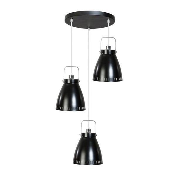 Čierne stropné svietidlo ETH Acate Alex