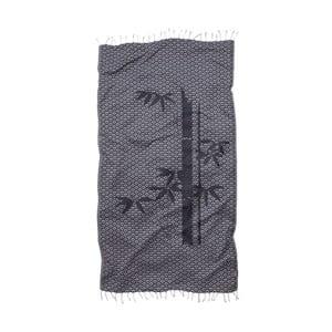 Osuška Hamam Seahorse Bamboo, 100×180cm