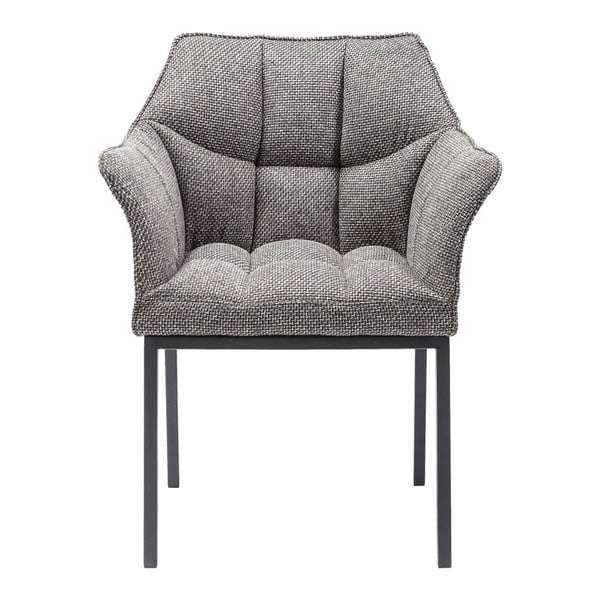 Sivá jedálenská stolička Kare Design Thinktank