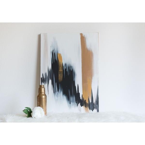 Obraz Golden Leaves, 50x70 cm