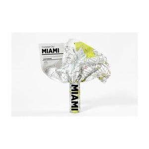 Pokrčená cestovná mapa Palomar Miami