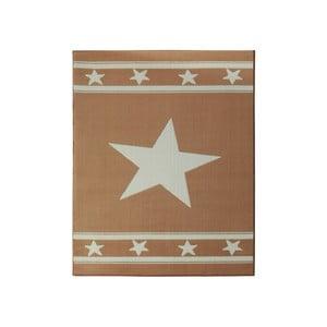 Koberec City & Mix - karamelová hviezda, 140x200 cm