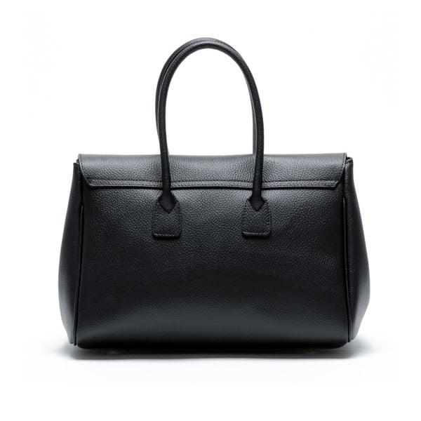 Kožená kabelka Francisca, čierna