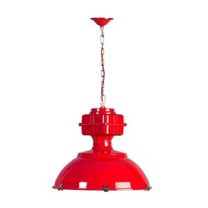 Červené stropné svietidlo ETH Manduria