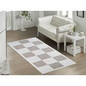 Béžový odolný koberec Vitaus Patchwork, 60×90cm