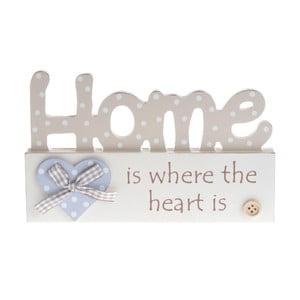 Drevená dekorácia Home Heart
