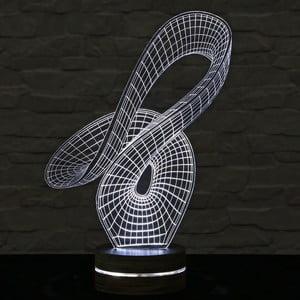 3D stolová lampa Trick