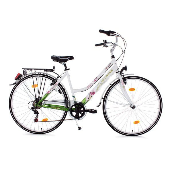 Dámsky bicykel City Bike Papilio White, 26""