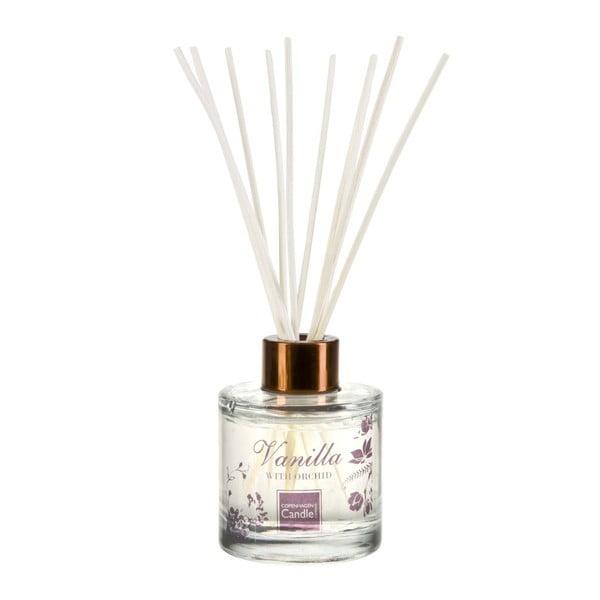 Aromatický difuzér s vôňou vanilky a orchidey Copenhagen Candles Reed, 100 ml
