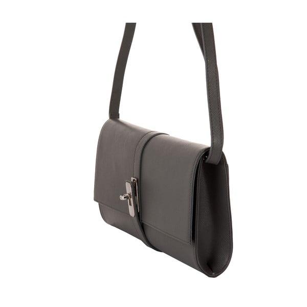 Sivá kabelka z pravej kože Andrea Cardone Calandra