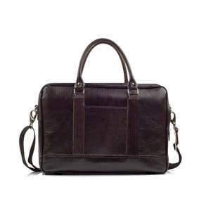 Pánska kožená taška Solier SL02 Brown