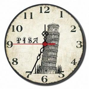 Nástenné hodiny Pisa, 30 cm