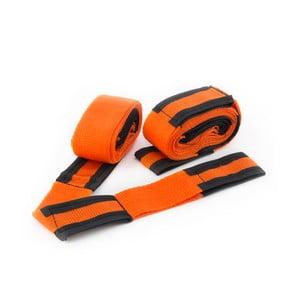 Sada 2 oranžovo-čiernych transportných pásov InnovaGoods