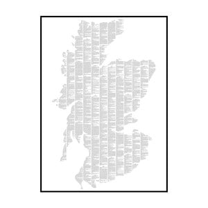 Knižný plagát Macbeth, 50x70 cm