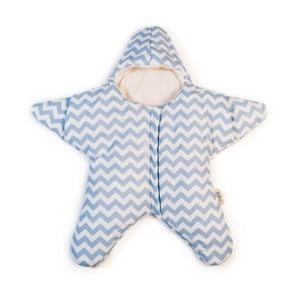 Detský vak na spanie Blue Star, vhodný aj na leto, pre deti do 3 mesiacov