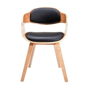 Jedálenská stolička so svetlou drevenou podnožou Kare Design Costa