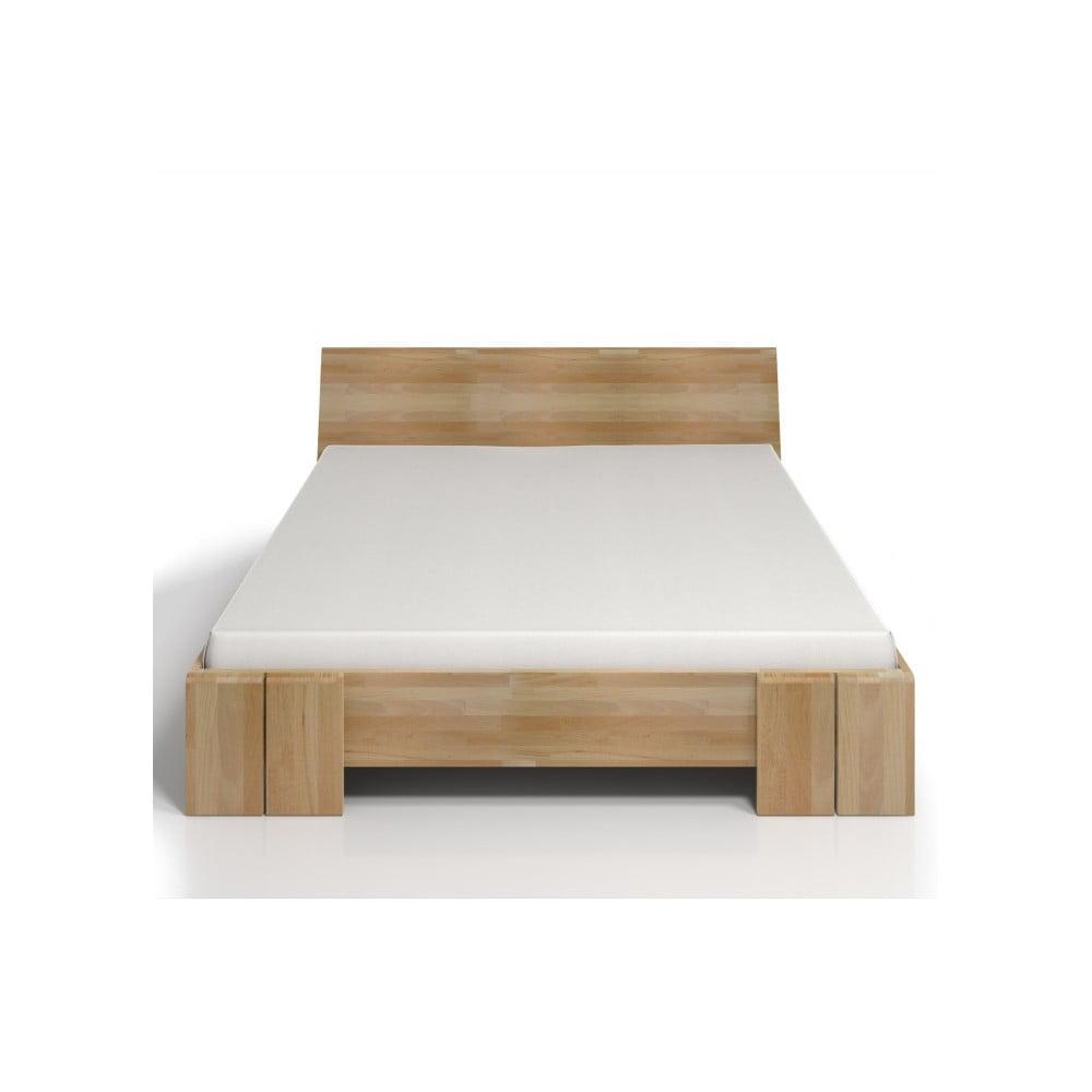 bb2d1a0874 Dvojlôžková posteľ z bukového dreva s úložným priestorom Skandica Vestre  Maxi