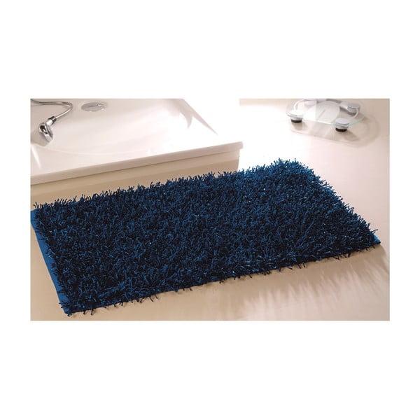 Kúpeľňová predložka Metallic Look Naby Blue, 60x100 cm