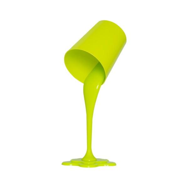 Zelená stolová lampa Ximena