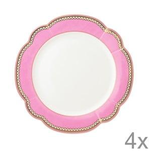 Porcelánový tanier Rosie od Lisbeth Dahl, 19 cm, 4 ks