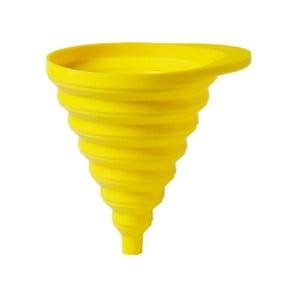 Skladací lievik Funnel, žltý