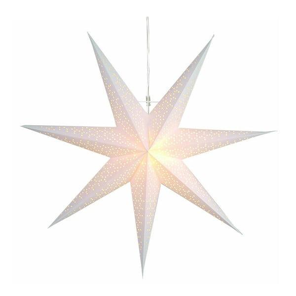 Závesná svietiaca hviezda Dot Snow, 70 cm