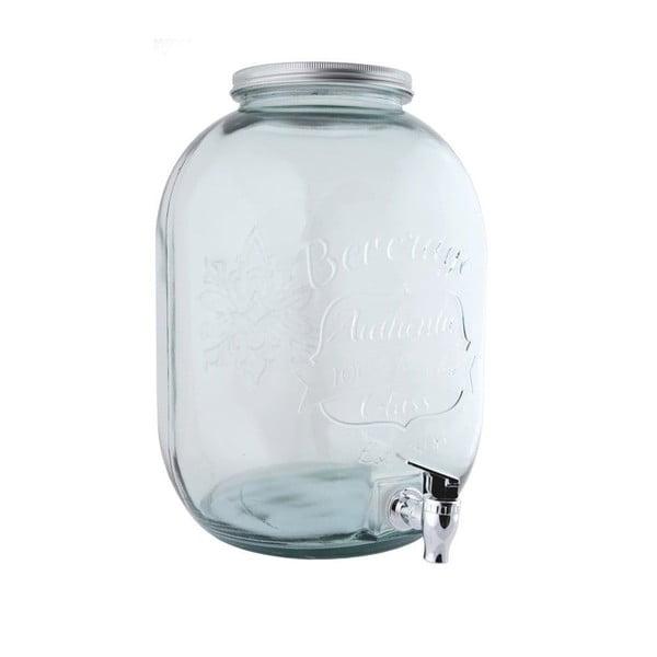 Nádoba na limonádu z recyklovaného skla Ego Dekor Authentic, 12,5 l