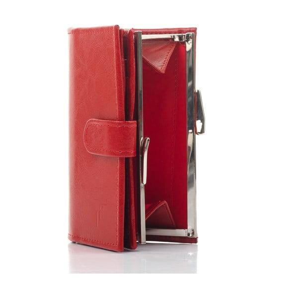 Kožená peňaženka Felice P13 Red