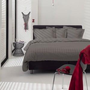 Sivé obliečky Linea Cement, 140×200cm