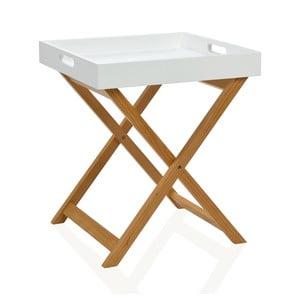 Odkladací stolík White Tray