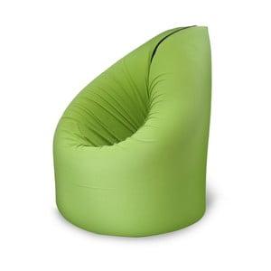Zelená rozkladacia posteľ s kresielkom Paq Bed