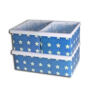 Sada 3 boxov Star Pattern