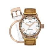 Dámske hodinky Marc Coblen s remienkom a krúžkom na ciferník naviac P29