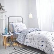 Modré obliečky Bianca Nordic Cotton, 135 x 200 cm