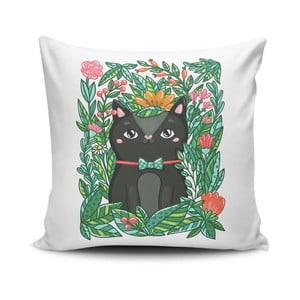 Obliečka na vankúš s prímesou bavlny Cushion Love Pantejo, 45 × 45 cm