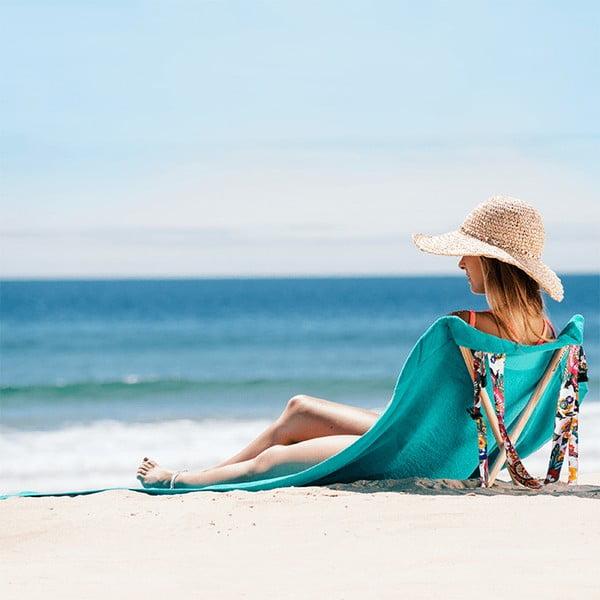Skladacie plážové lehátko a osuška v jednom Sun Seat Water Jungle