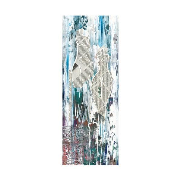 Obraz na plátne Paper Ladies 30x80 cm