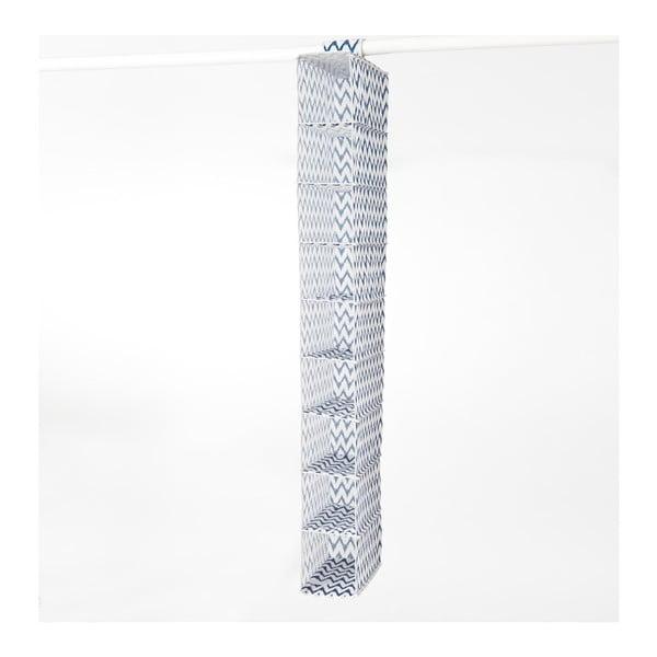 Textilný závesný organizér Compactor ZigZag 9 Rack