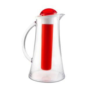 Červený džbán Vialli Design Livio, 2,1 l