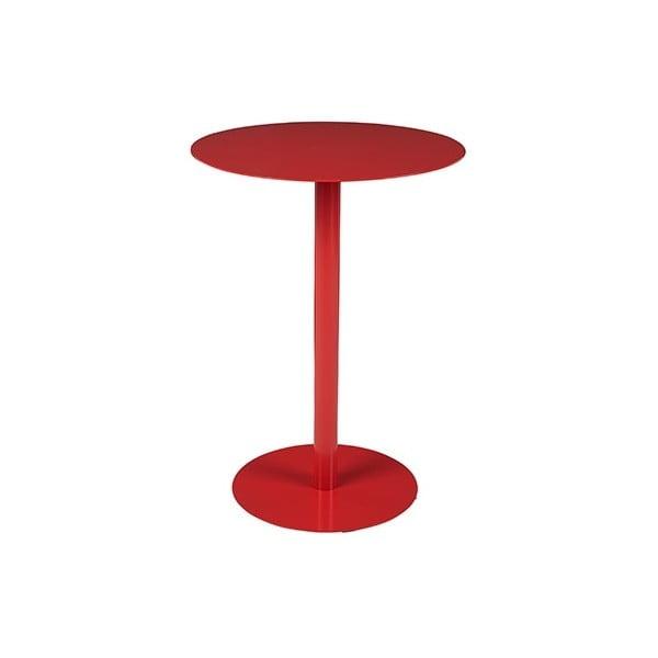 Červený odkladací stolík Elvio