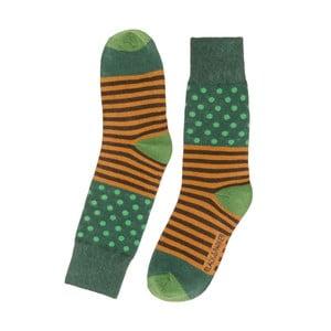 Vysoké unisex ponožky Black&Parker London Lake, veľkosť 37/43