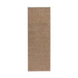 Béžový behúň Hanse Home Pure, 80x200cm