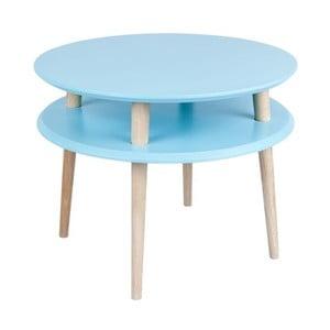 Konferenčný stolík UFO 45x57 cm, modrý