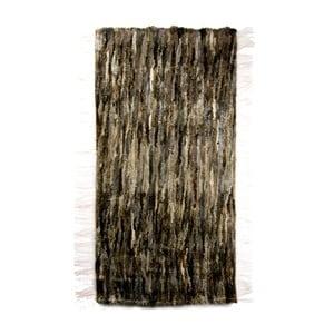 Koberec z ovčej kože 60x160 cm, tmavý