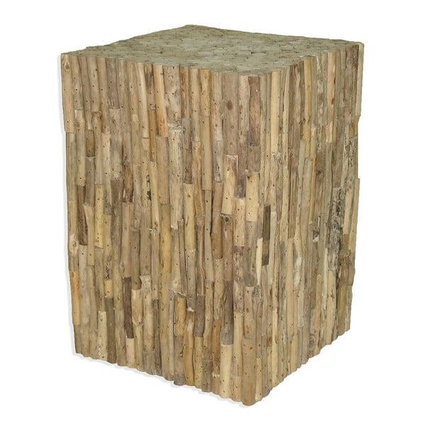 Drevený podstavec Logs, 42 cm