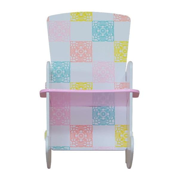 Detská hojdacia stolička Country Cottage
