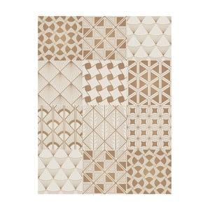 Koberec z vinylu Collage Dorados Blanco, 99x120 cm