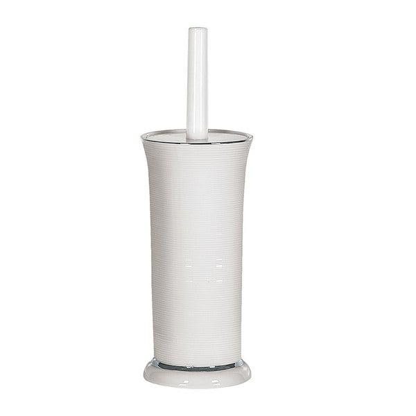 Toaletná kefa Ascot White/Silver