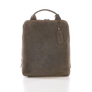 Hnedý kožený batoh Gianni Conti Gina