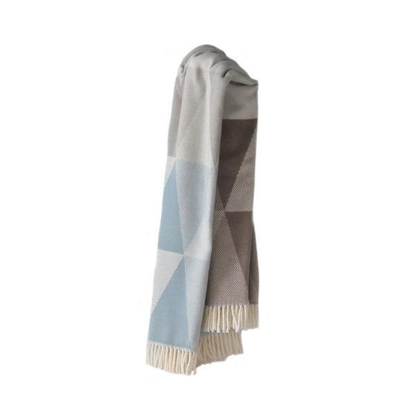 Modro-sivá deka Euromant Pisa, 140x180cm